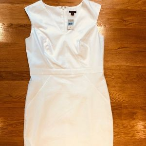 White Ann Taylor Dress - New with Tags, 8P
